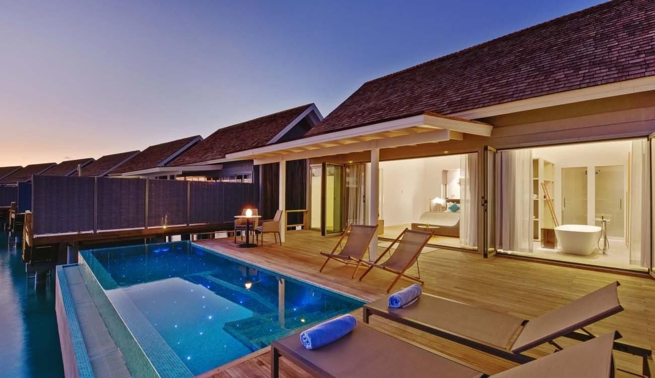 Kuramathi Thundi Water Villa With Pool Kuramathi Island Maldives